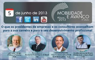 Projete sua carreira -  PARTICIPE do #Frum2013