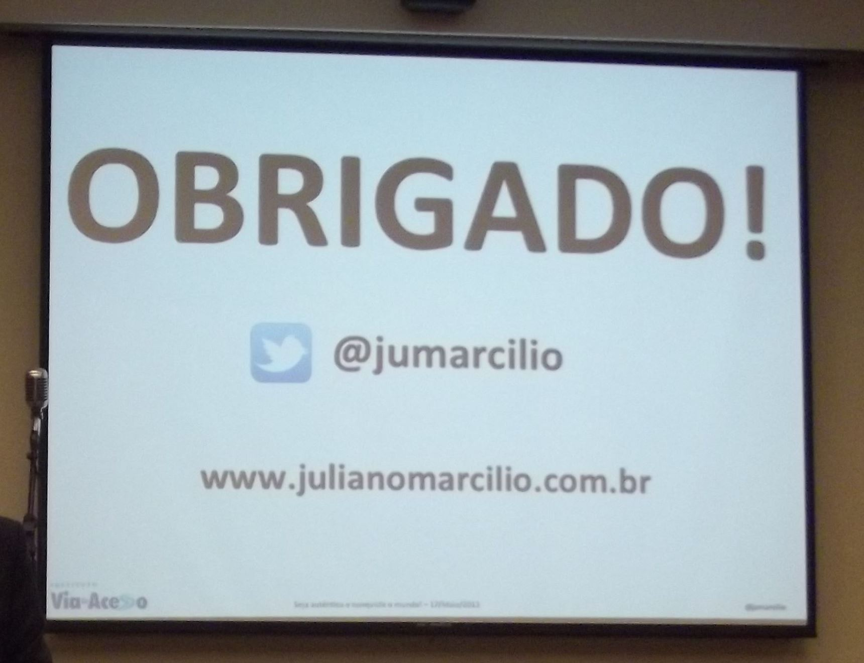Confira a galeria de fotos do seminrio com Juliano Marcilio